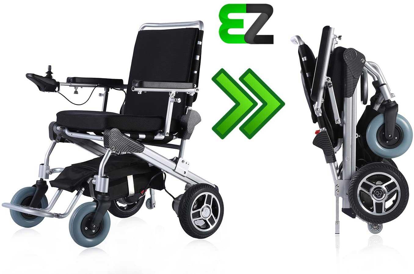 2.2. EZ Lite Cruiser Deluxe Electric Wheelchair