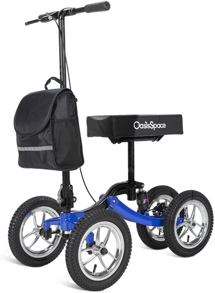 3. OasisSpace Shock Absorber Scooter
