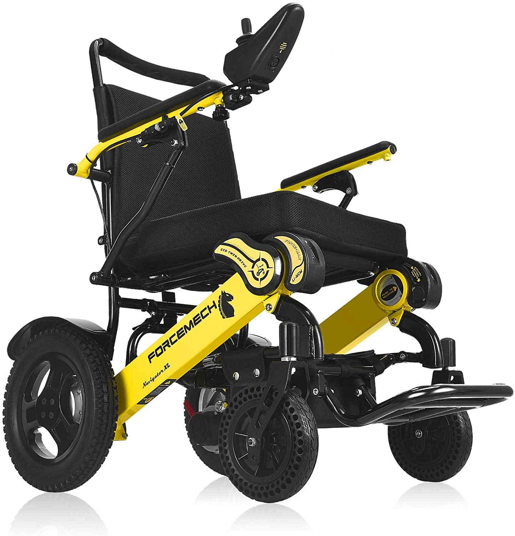4.4.Forcemech Navigator XL Electric Wheelchair