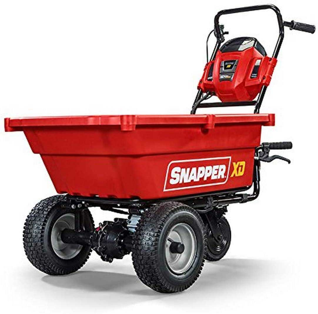 1.-Snapper-XD-82V-MAX-Cordless-Electric-Self-Propelled-Utility-Cart