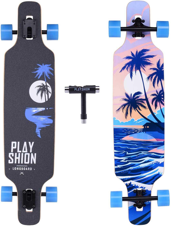 2.-Playshion-Drop-Through-Freestyle-Longboard