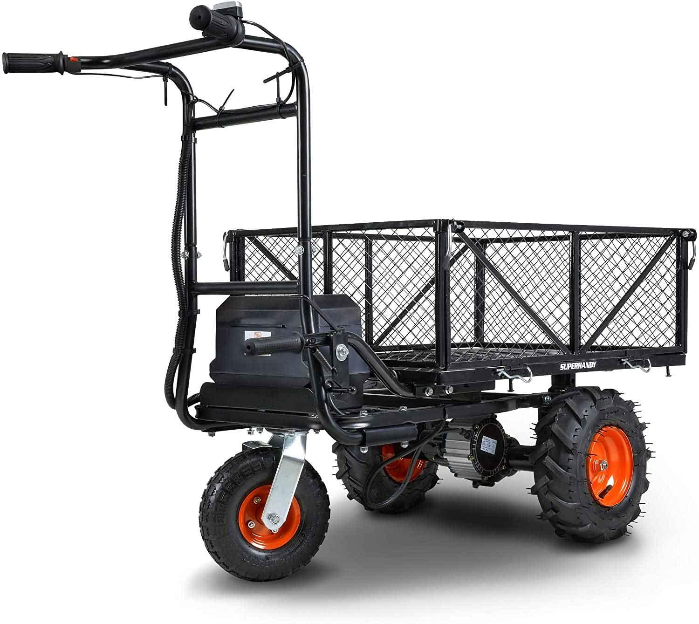 2.-SuperHandy-Utility-Service-Cart-Power-Wagon-Wheelbarrow-Electric